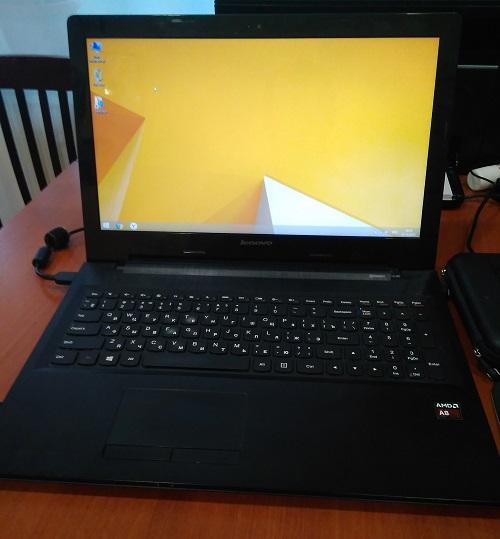 Комплексная работа с ноутбуком Lenovo