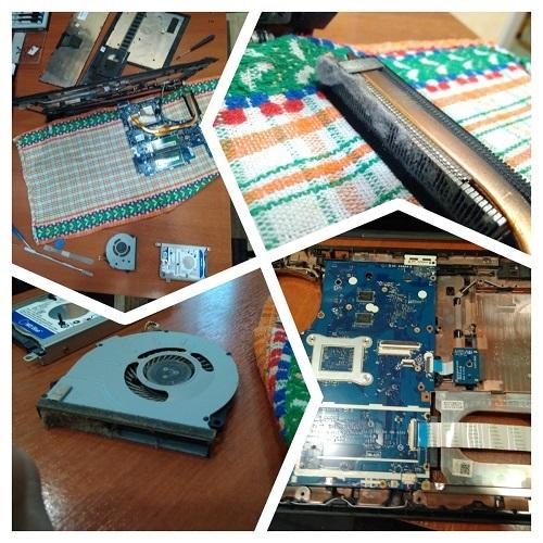 Чистка ноутбука Lenovo от пыли