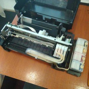 """Принтер Epson L120 - сброс """"памперса"""" и чистка Липецк"""