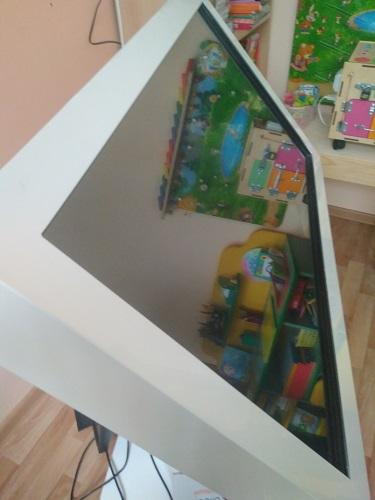 Настройка интерактивного стола в детском саду