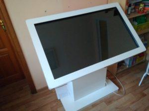 Настройка интерактивного стола в детском саду (Липецк)