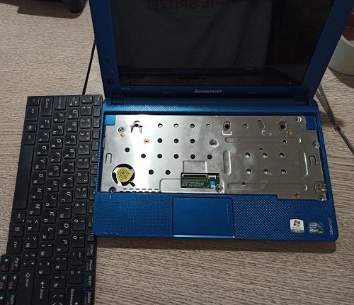 Восстановление работы экрана нетбука Lenovo