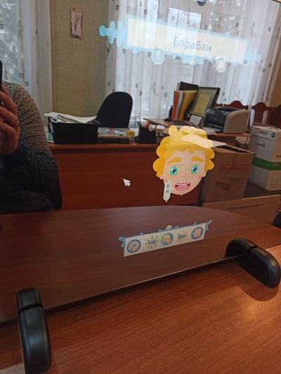 Интерактивное зеркало в работе