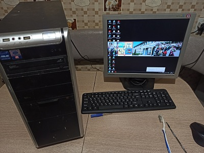 Компьютер почищен