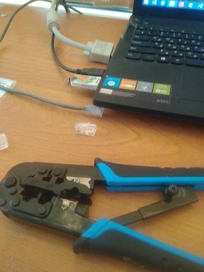 Перестал работать проводной интернет на ноутбуке