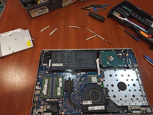 Разбор ноутбука HP