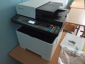 Установка и настройка принтера Kyocera
