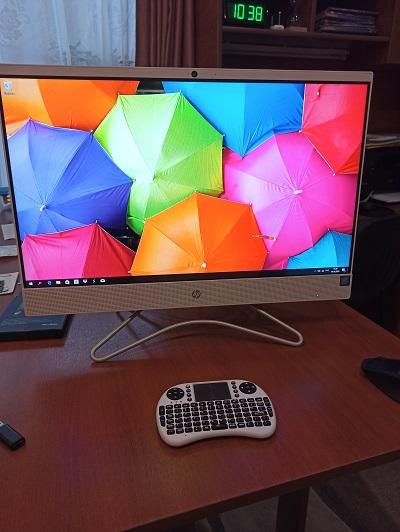 Windows 10 моноблок HP